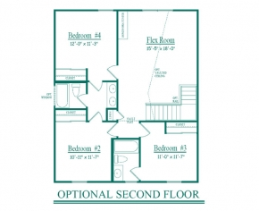 The  - Optional 2nd floor