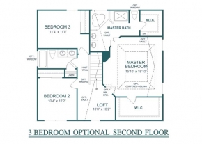 The  - Optional 3 Bedroom 2nd Floor