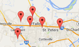 Find Your New Home Community in St. Charles and Wentzville, Missouri (Greater St. Louis area)